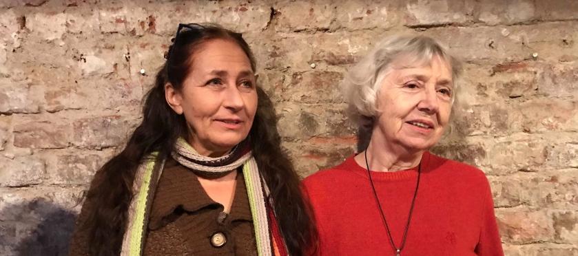 Margot Hruby und Eva Geber